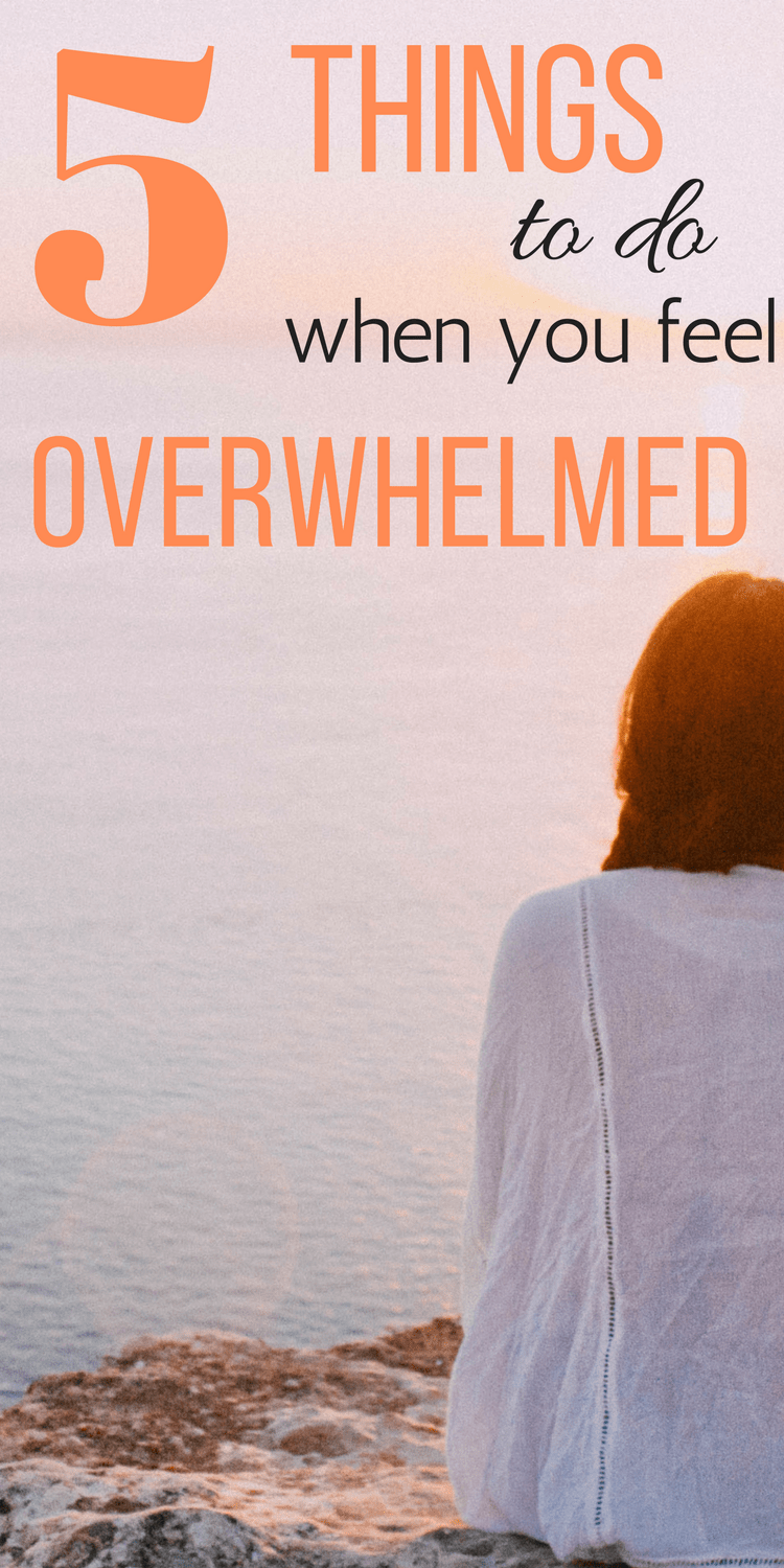 5 Productive Steps to Overcome Overwhelm
