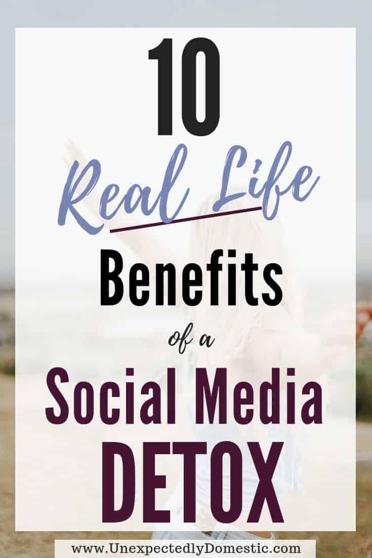 10 Benefits of a Social Media Detox