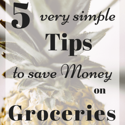 5 Very Simple Ways to Save Money on Groceries