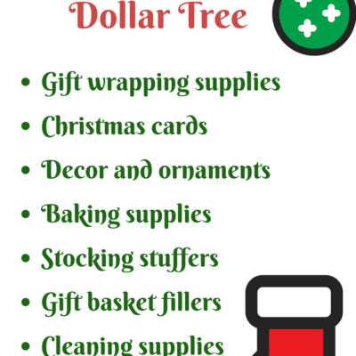 8 Surprisingly Helpful Christmas Items from the Dollar Store