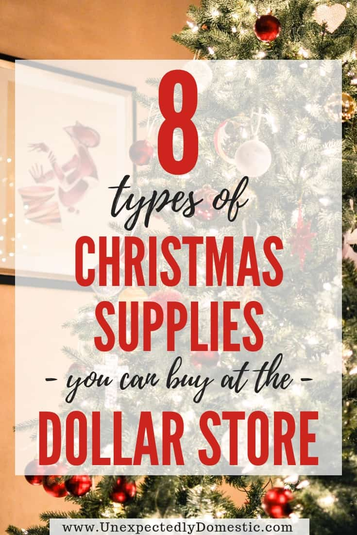 8 Surprisingly Helpful Dollar Store Christmas Items