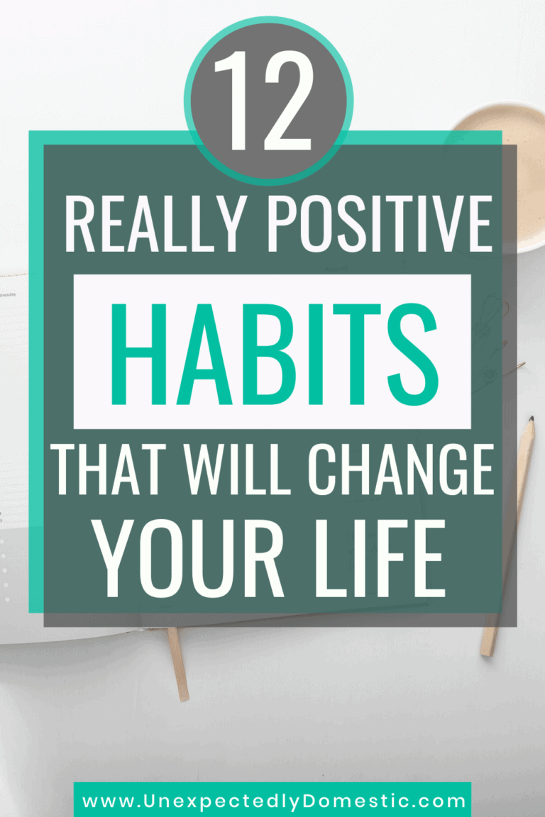 12 Habits That Just Might Change Your Life