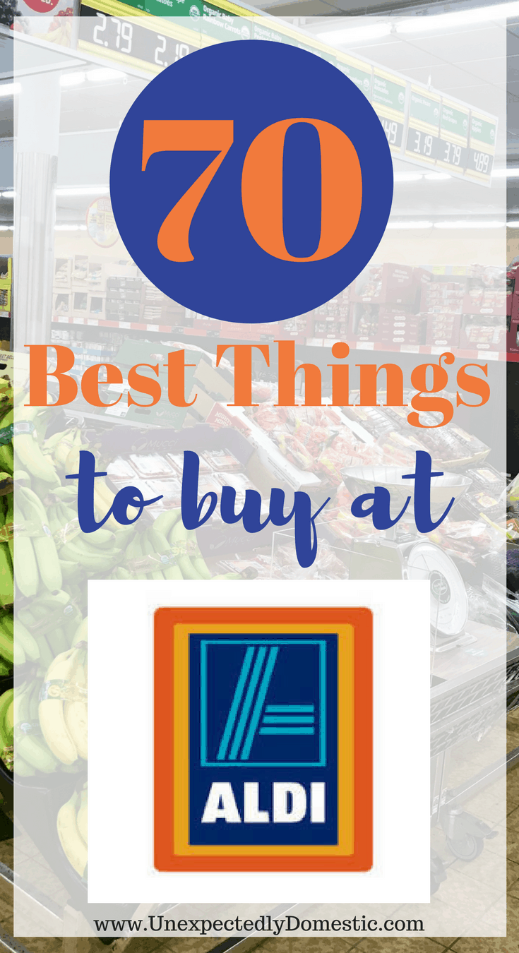 70 Best Things To Buy At Aldi