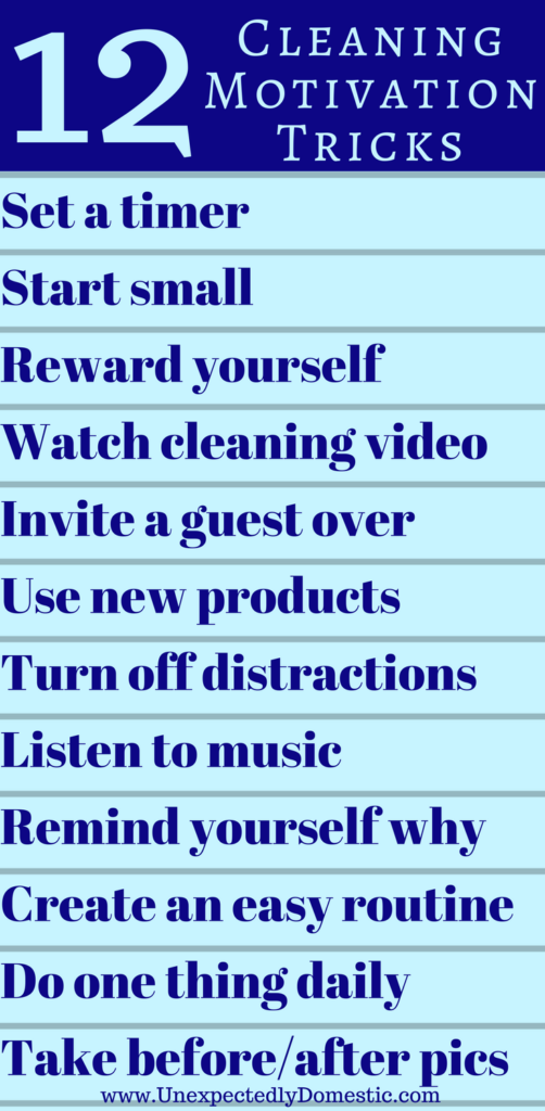 Cleaning Motivation Home