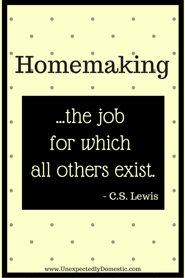 importance of homemakers