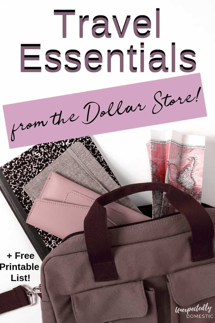 75 Travel Essentials You Should Buy At The Dollar Store