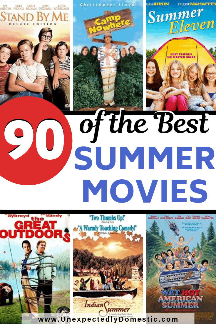 Check out this list of over 90 of the best summer movies, including the best summer movies for kids, or to watch on a date night.