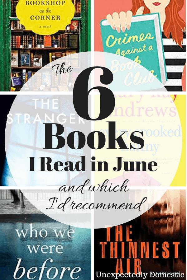 June Reading List
