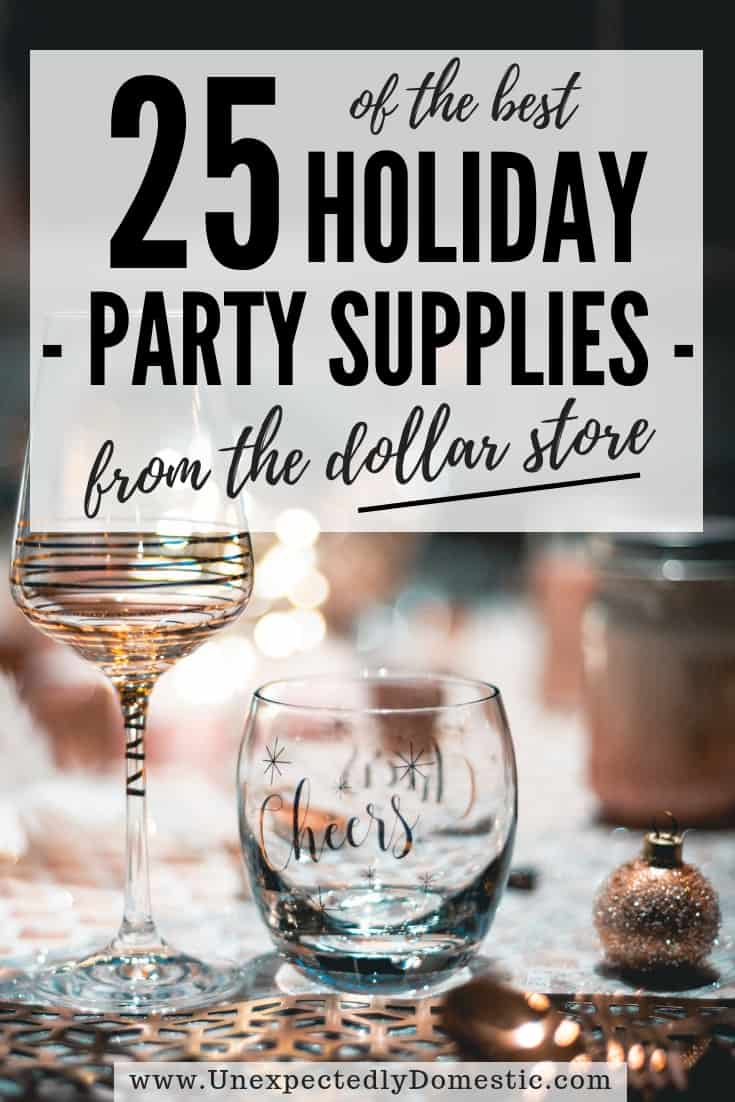 25 of the Best Dollar Store Party Supplies