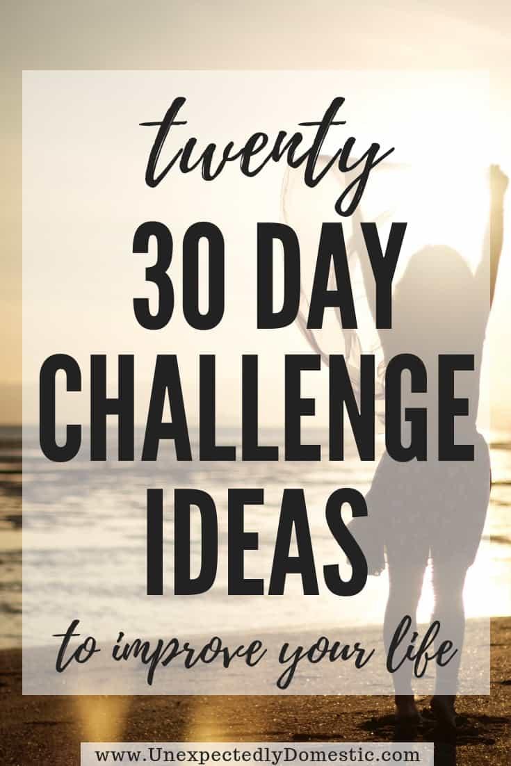 Twenty 30-Day Challenge Ideas That Will Improve Your Life