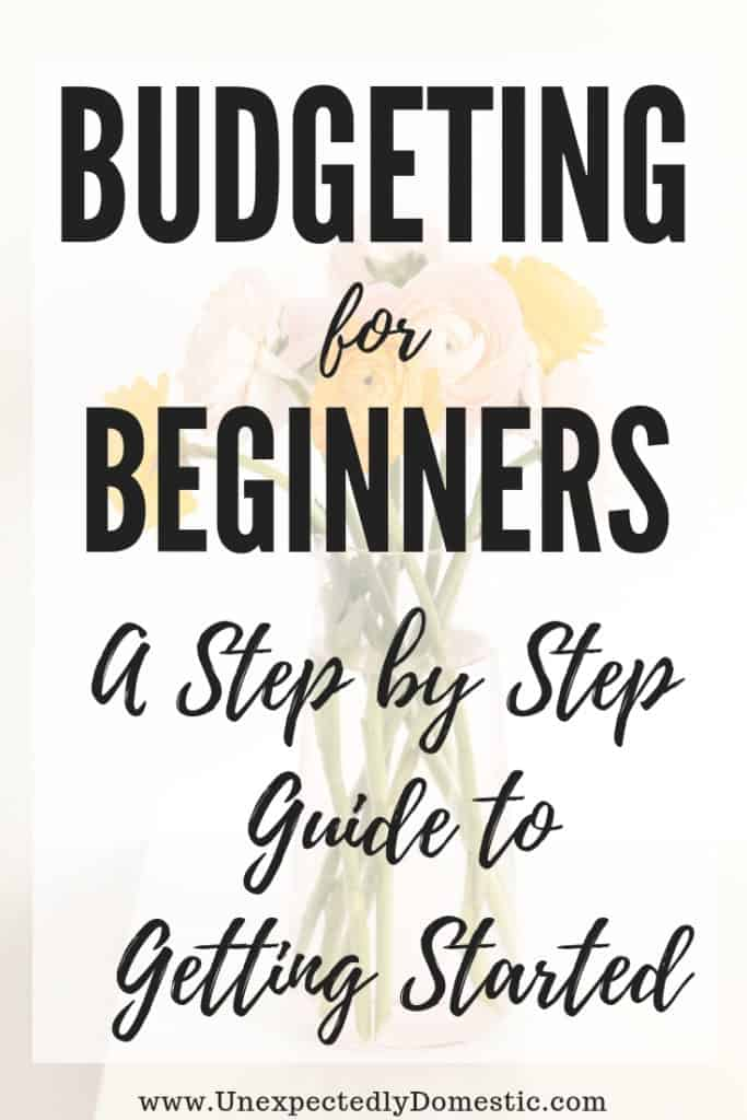 A step by step guide to budgeting for beginners! Check out these easy budgeting tips for beginners, with budgeting worksheets included.
