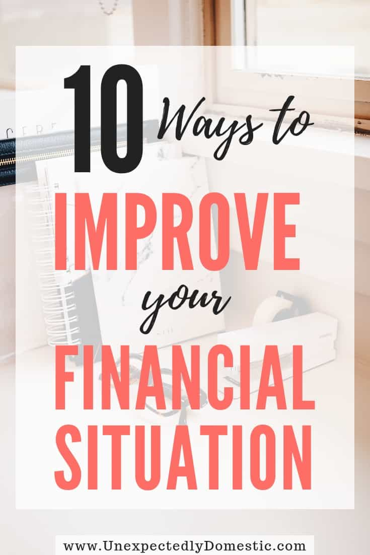 10 Things To Do To Finally Get Control of Your Finances