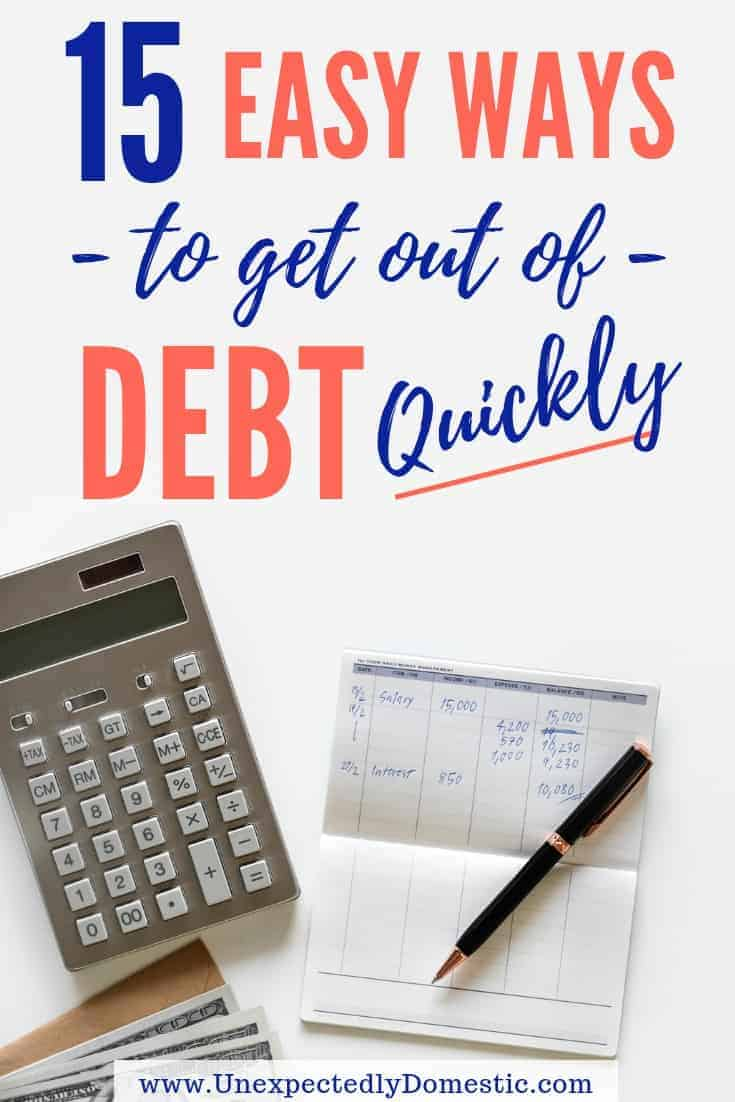 How to Pay Off Debt Quickly: 15 Ways to Start Today