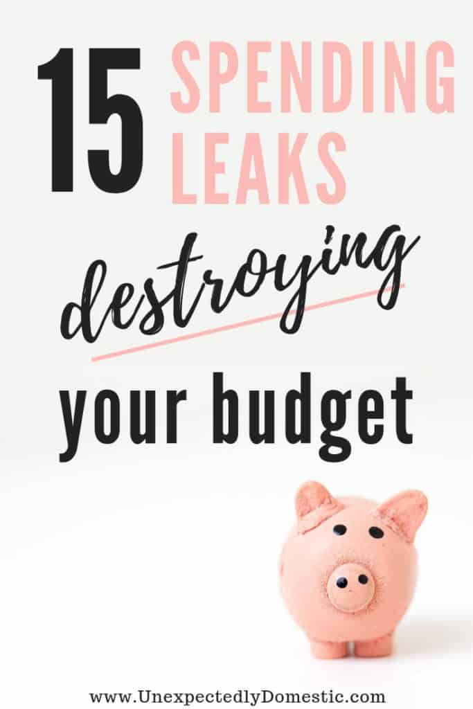 If you ever found yourself wondering 'where does all my money go,' check out these 15 spending leaks that are destroying your budget.