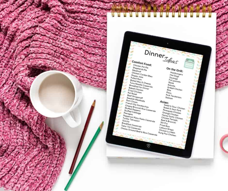 The exact steps for grocery shopping and meal planning on a budget. Use this weekly meal planner template with grocery list to lower your grocery bill!