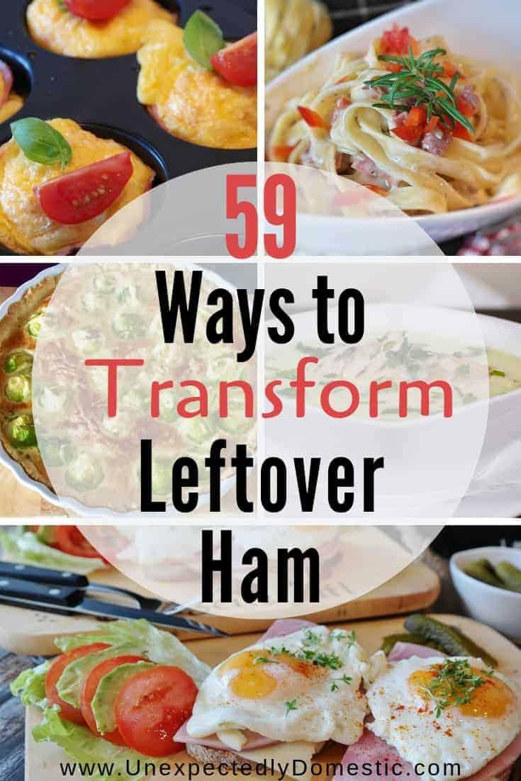 Genius Uses for Leftover Ham: 59 Delicious Ham Recipes