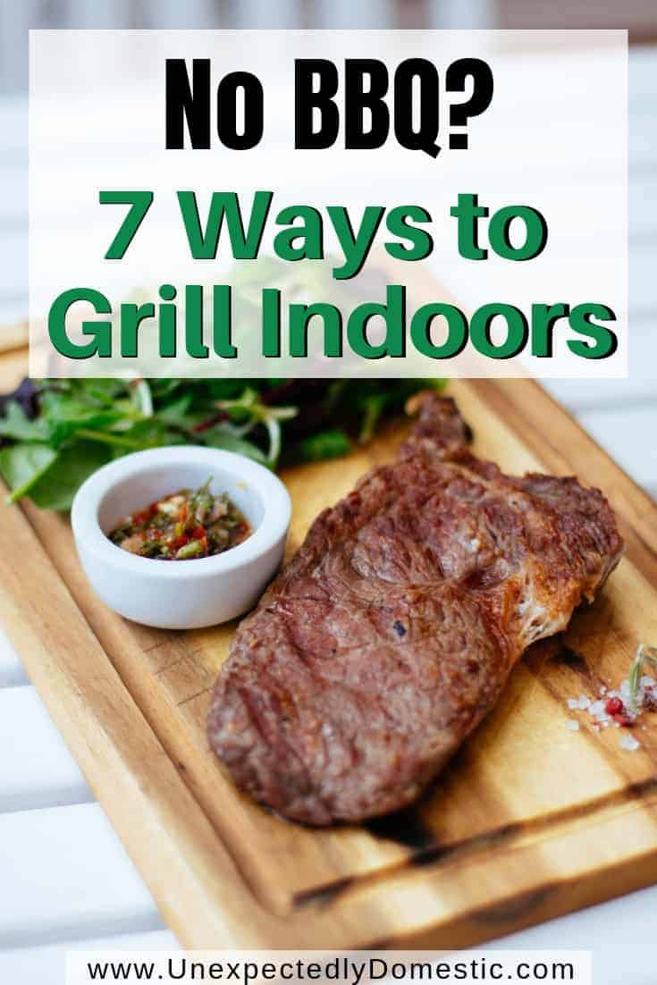 How to BBQ without a BBQ Grill (or even a backyard!)