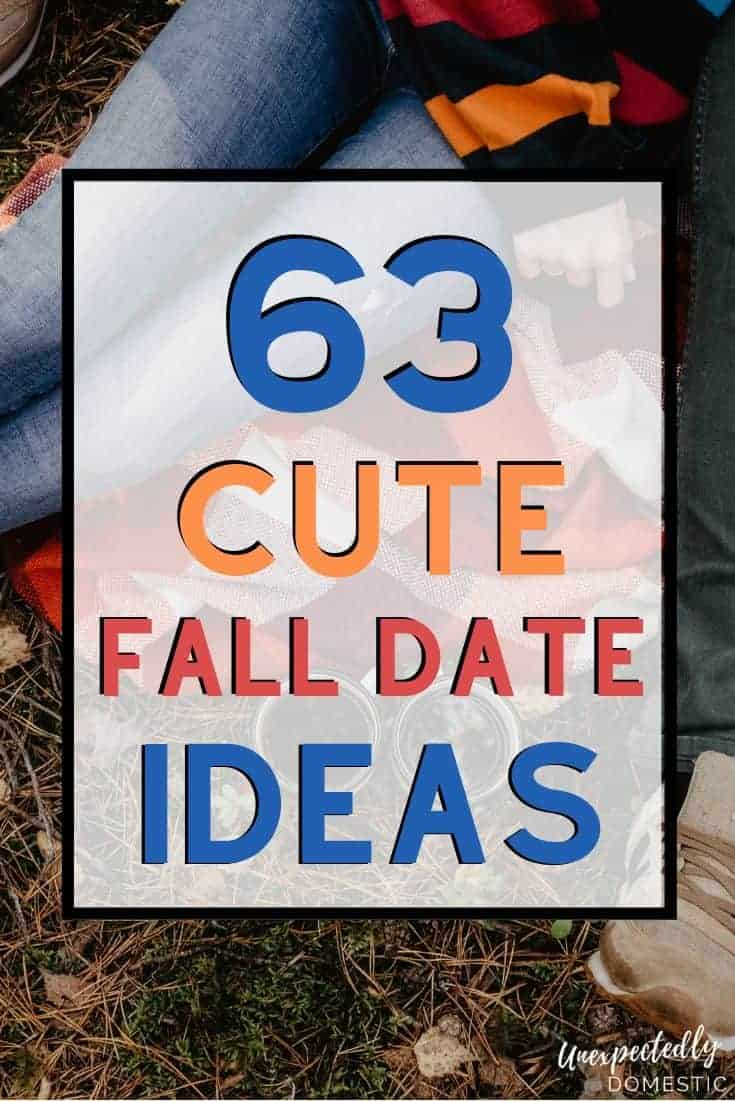 These cute fall date ideas are romantic AND fun! Whether you want cheap or adventurous, there's something on this fall date night ideas list for any couple.