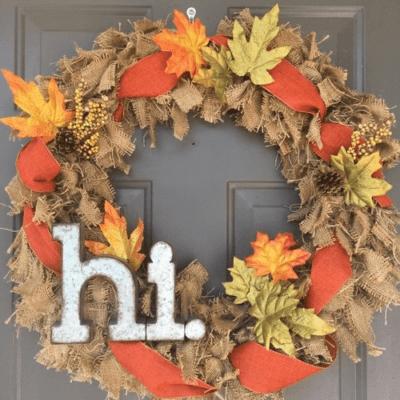 25 DIY Fall Wreath Tutorials to Embellish Your Front Door