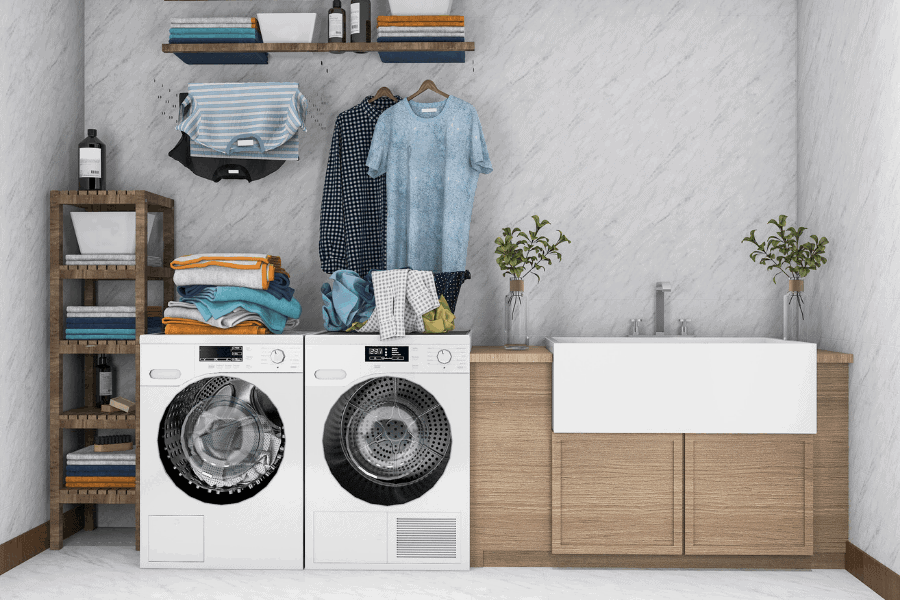 Feeling overwhelmed by laundry? Here's how to do laundry faster so you can keep up with the piles and stay ahead of this never ending task.