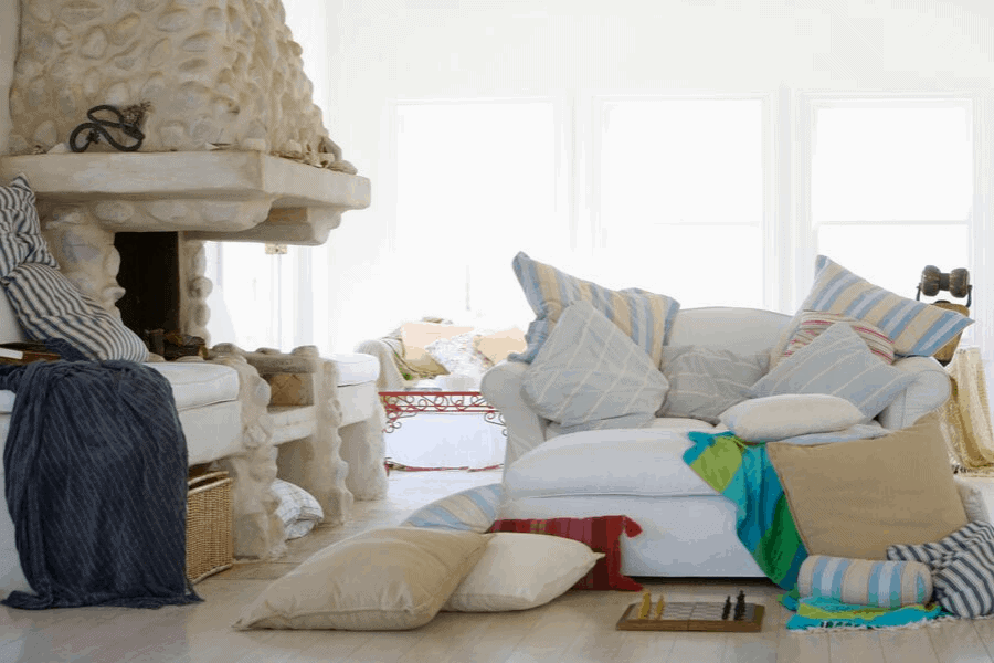 Drowning in clutter? Here's the secret to keeping your house clean ALL the time. It's the magical habit that will take your home from messy to sparkling.