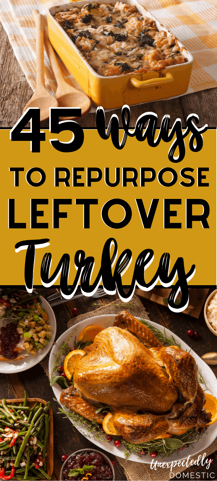 Need some uses for leftover turkey? These easy leftover turkey recipes will transform your holiday leftovers into tasty casseroles, soups, and pasta dishes!
