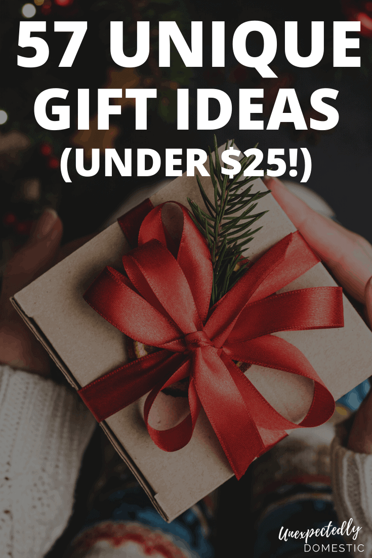 57 Creative & Unique Gift Ideas Under  that People Will Love