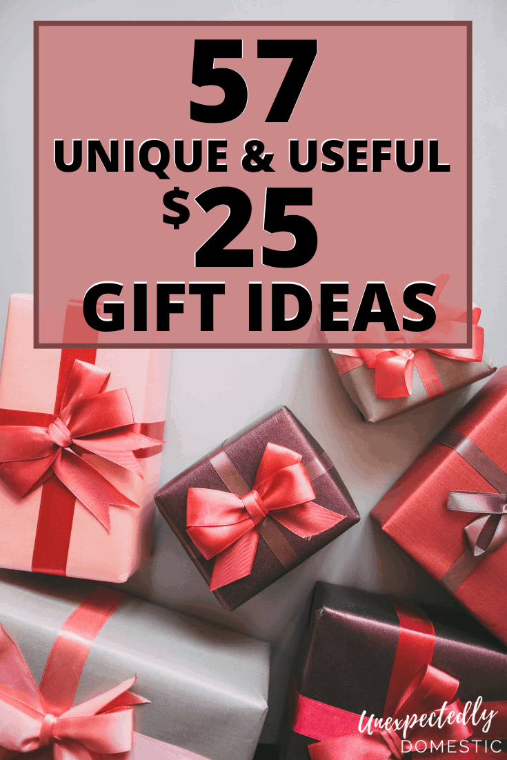 57 Creative unisex gift ideas under . Try these unique and useful gifts for guys, ladies, friends, or anyone on your list!