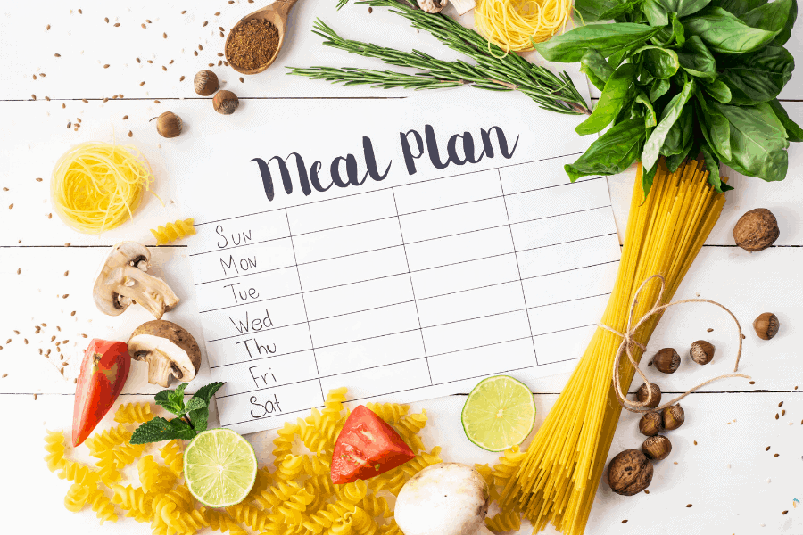 An easy frugal meal planning system to keep your grocery budget low. Try this step by step guide to planning frugal meals!