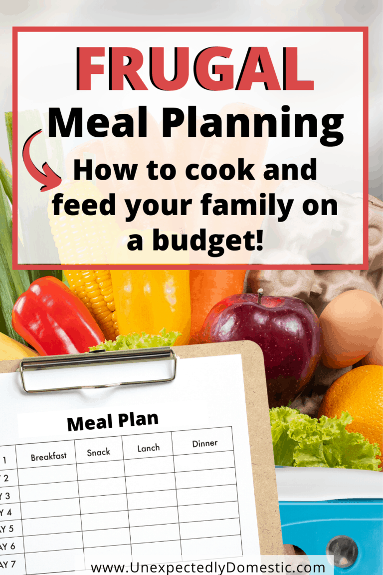 Frugal Meal Planning – Everything You Need to Know to Eat on a Budget