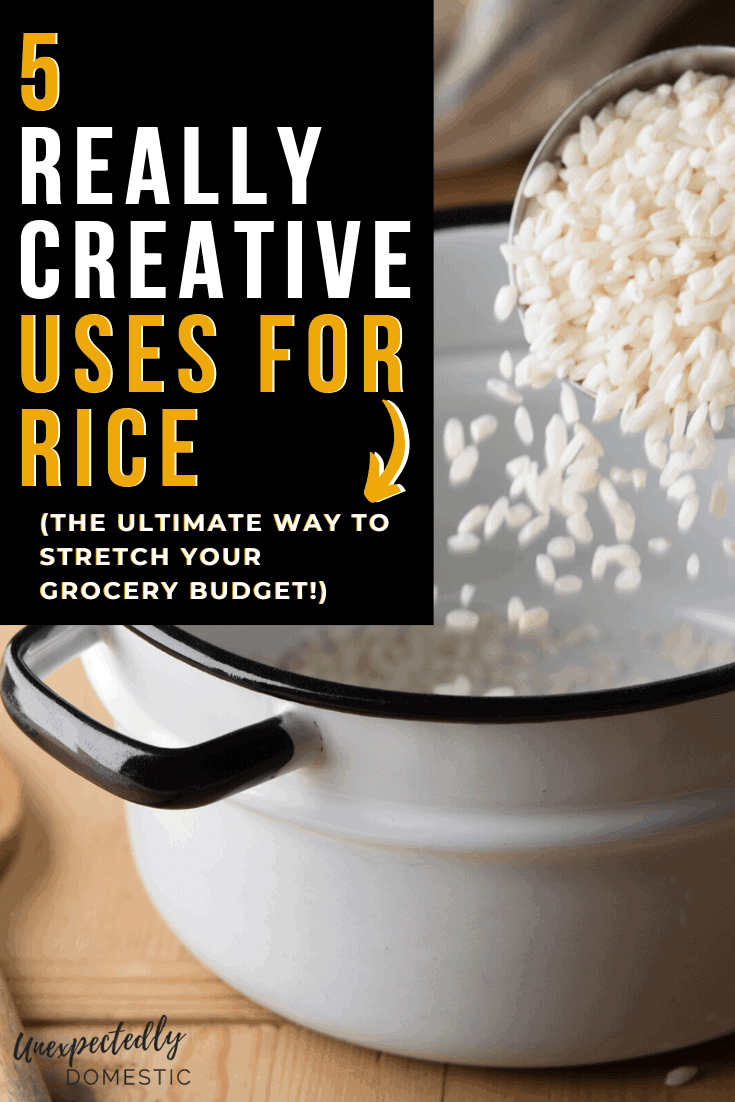 5 Delicious Ways to Dress Up Rice (and stretch your grocery budget!)
