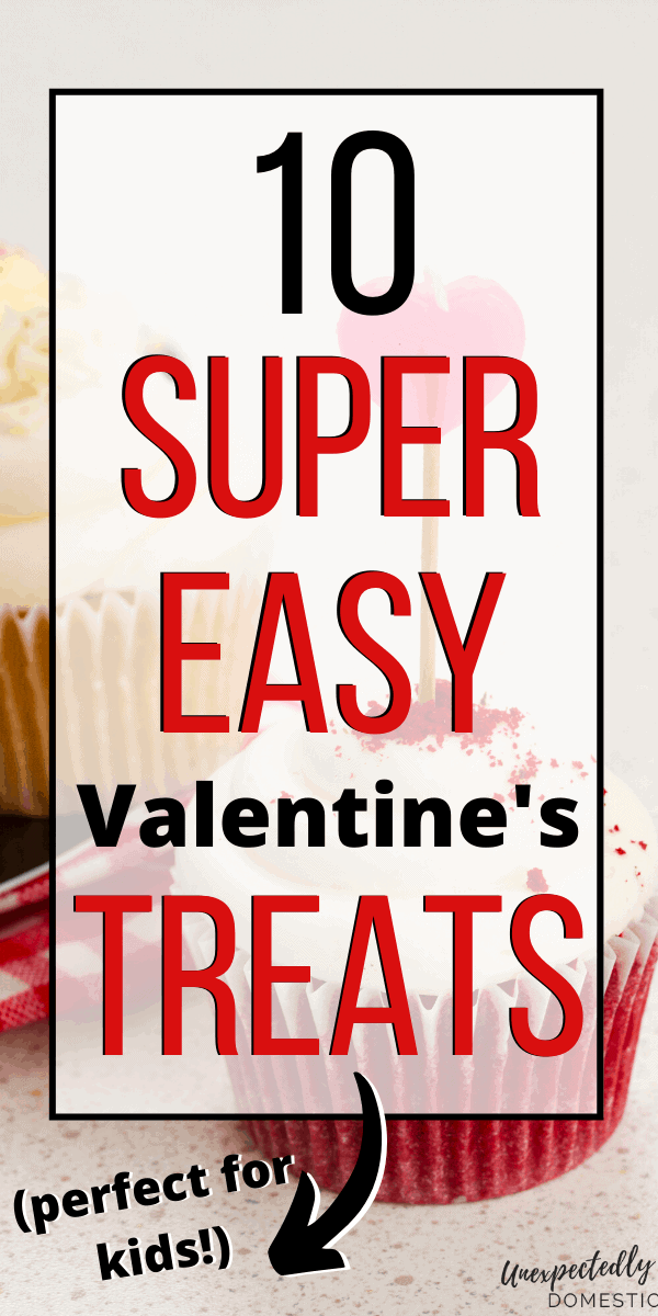 Super easy homemade Valentine's Day treats! Most of these fun and festive treats are no-bake, and come together with just a few ingredients. Try these Valentine's treats for work, or send them with your kids for their school parties.