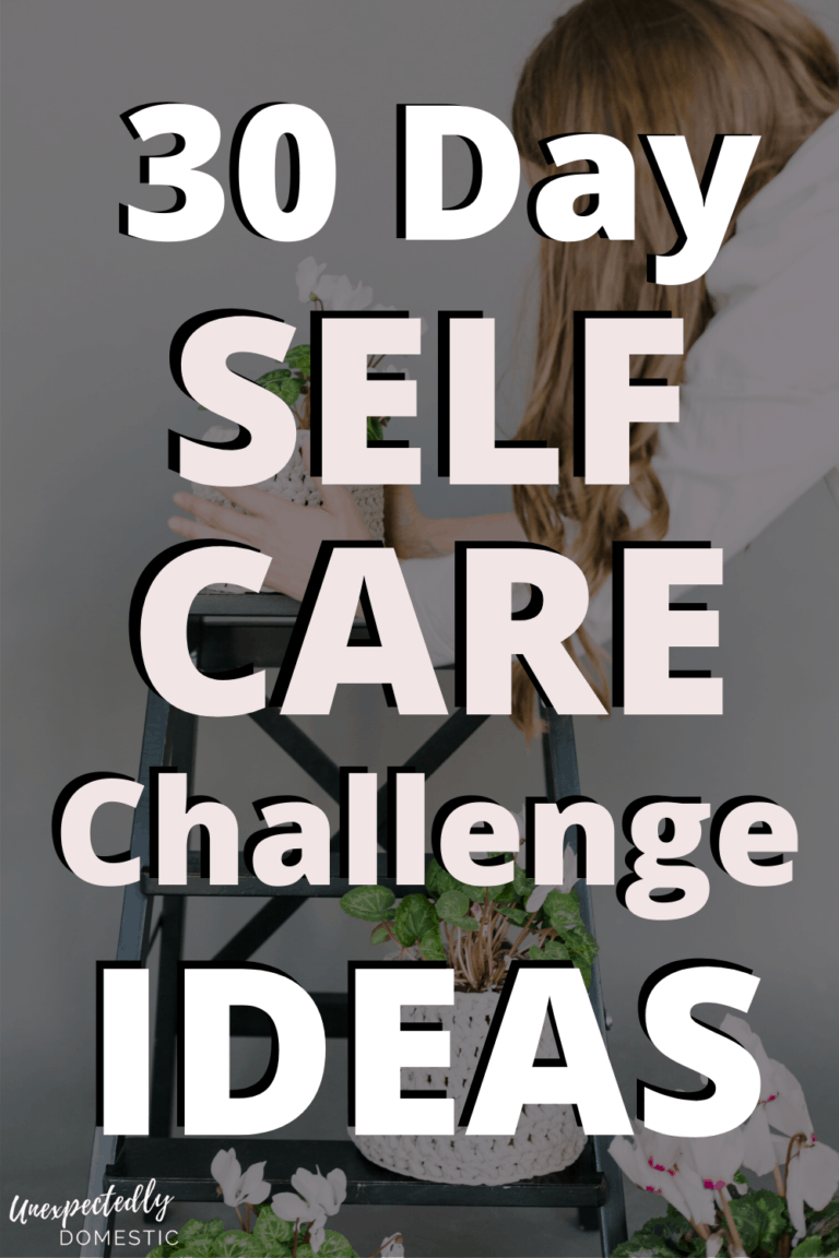 30 Self Care Challenge Ideas to Nurture Your Body, Mind, and Soul