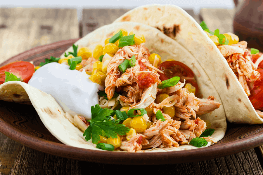 15 super easy slow cooker dump meals! These no preparation crockpot dump recipes come together SO quick and easy. They cook themselves while you're busy doing other things!
