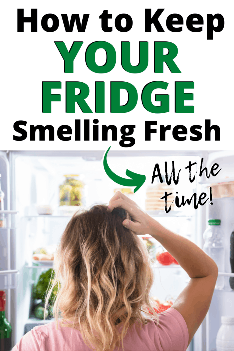 How to Keep Your Fridge Smelling Fresh Naturally (10 easy tricks!)