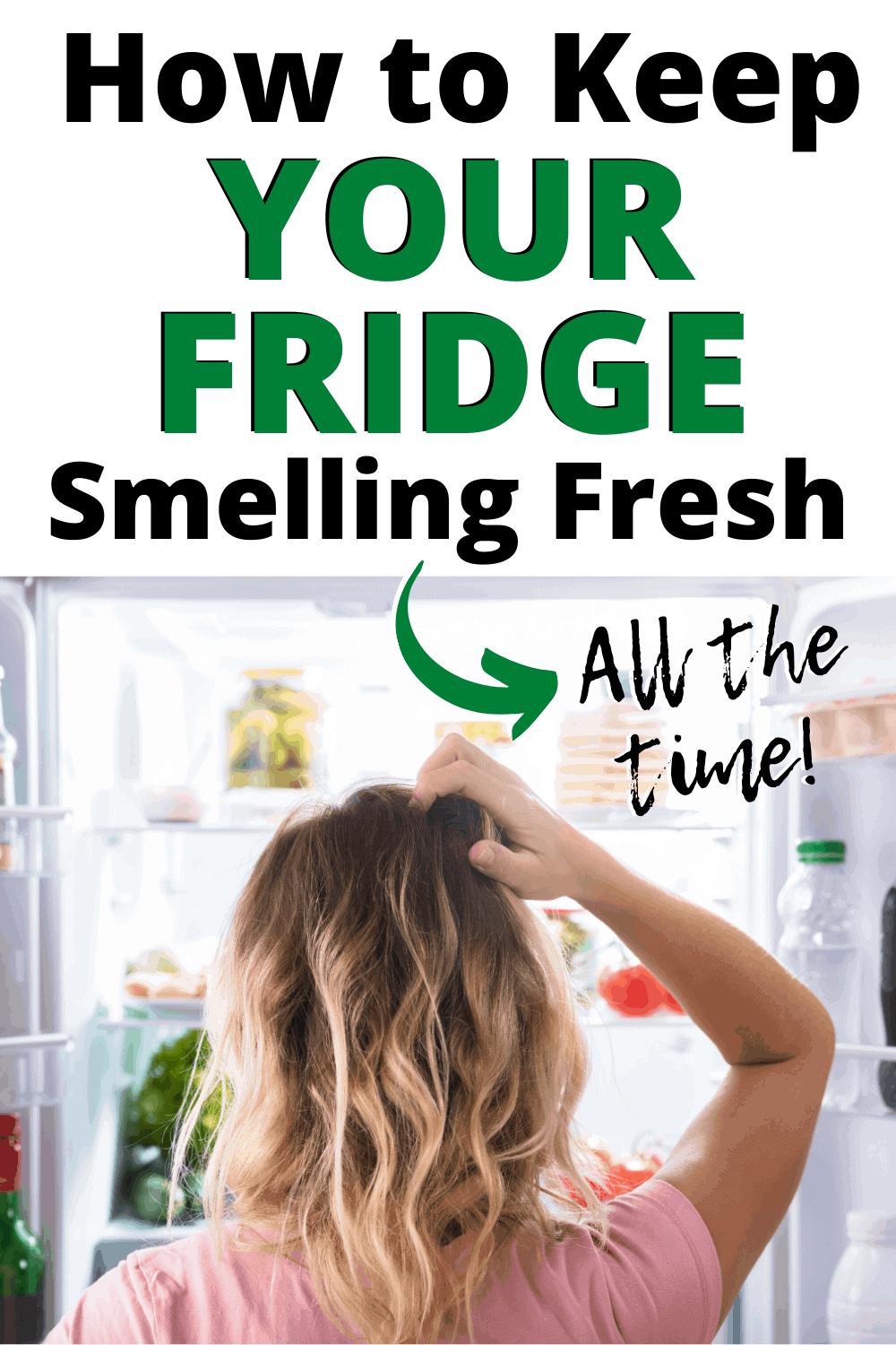 How to keep your fridge smelling fresh! 10 easy ways to deodorize your refrigerator naturally, and remove those bad odors for good.