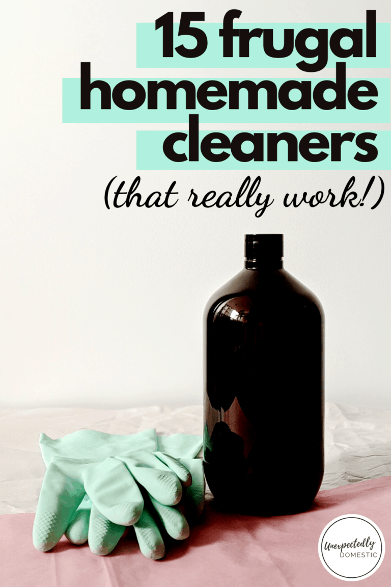 15 Frugal Homemade Cleaning Products That Really Work