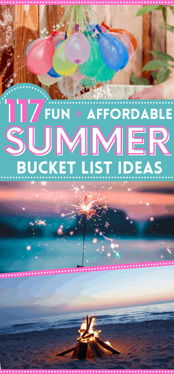 Summer bucket list ideas for 2021! These fun summer activities can be done outdoor or indoor, andare perfect for families with kids, couples on a date, or friends to do together.