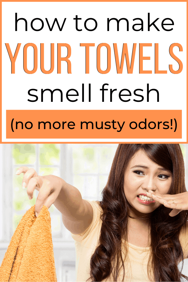 How to Get the Musty Smell Out of Your Towels…and keep them smelling fresh!