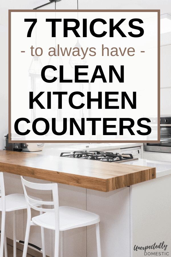 Kitchen Counter Organization Ideas (+7 tricks to keep it clutter free!)