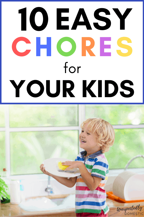 10 Chores Easy Enough for Your Kids To Do