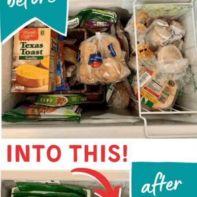 The Best Way to Organize Your Chest Freezer (to find things easily!)