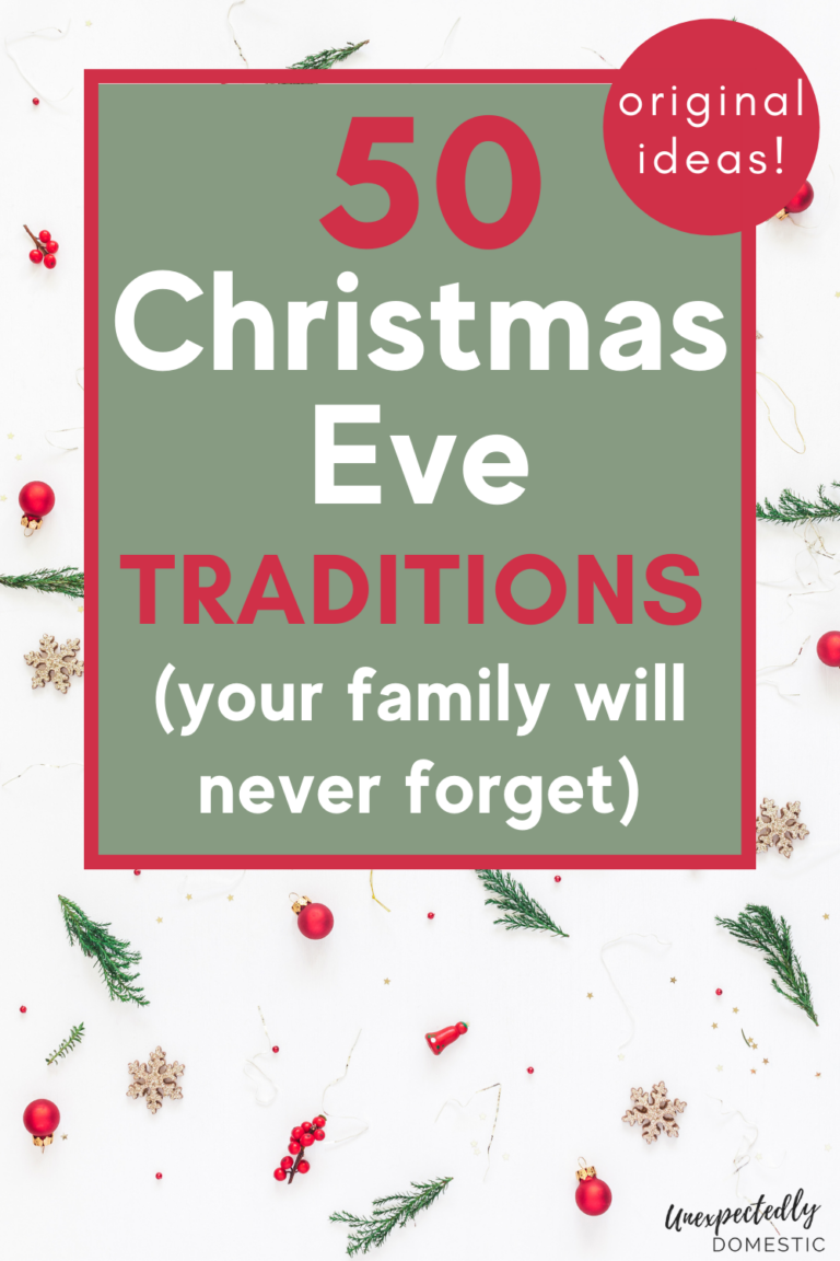 50+ Fun & Special Things to Do on Christmas Eve (start new traditions!)