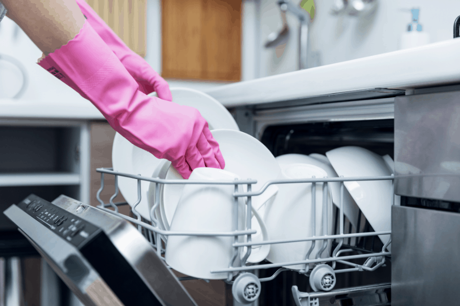 How to keep up with the dishes! These dishwashing tips and tricks will help you get the dishes done quickly and efficiently...and maybe even make it fun.