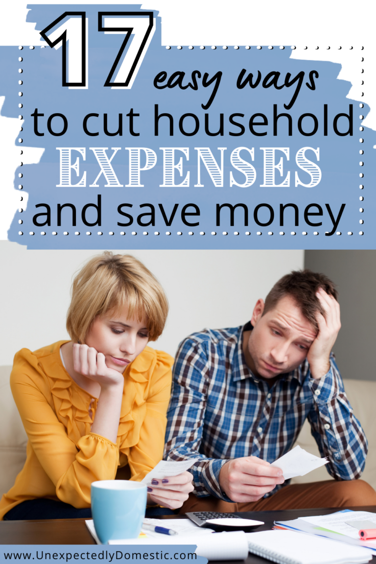 17 Smart & Easy Ways to Save Money on Household Bills