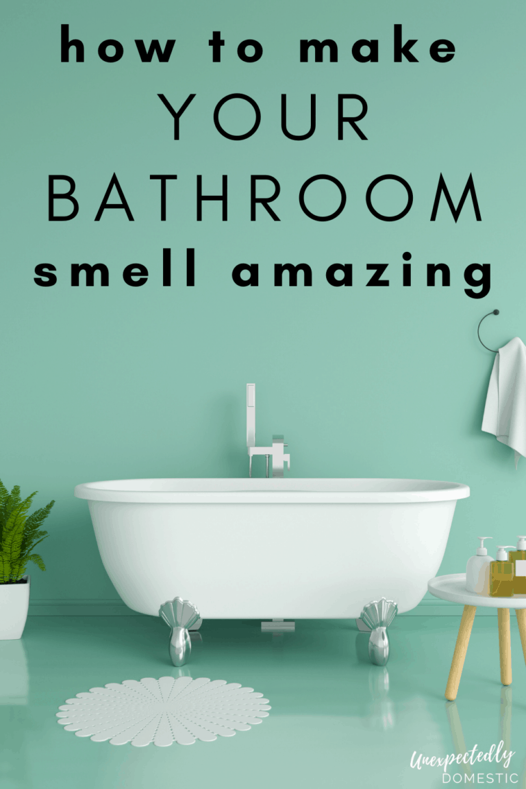 13 Clever Scent Hacks to Make Your Bathroom Smell Good (all the time!)