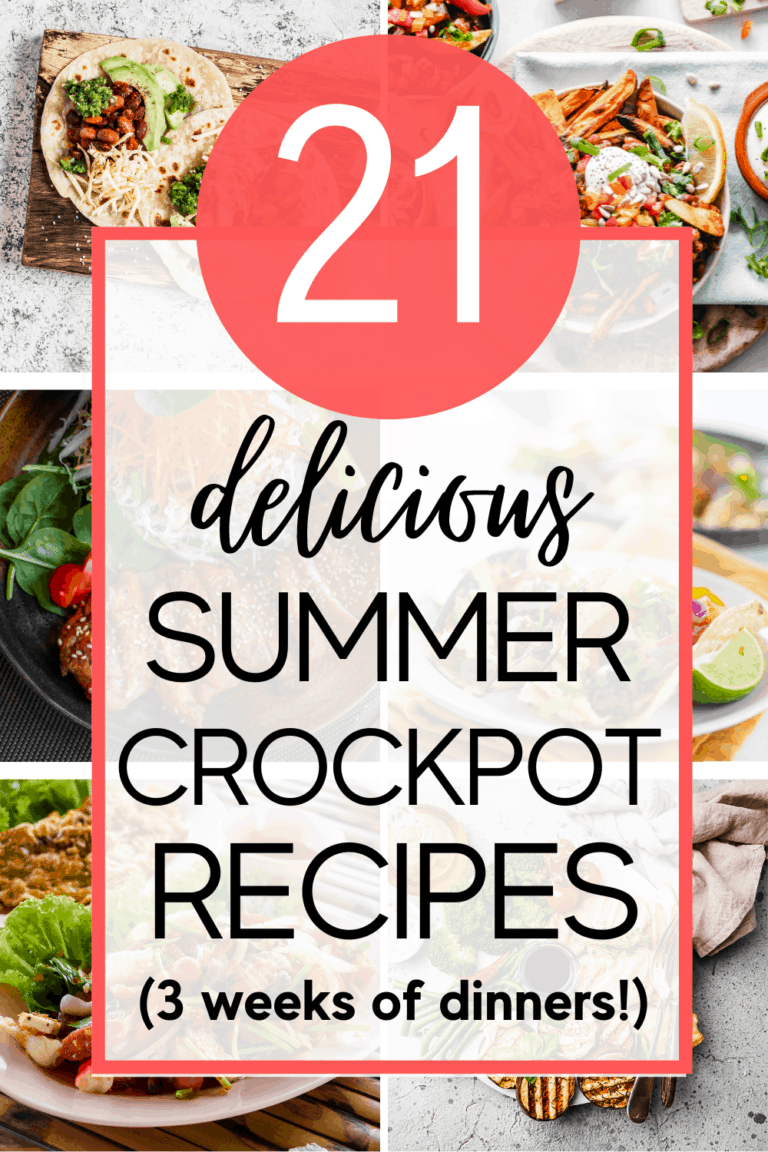 21 Delicious Summer Slow Cooker Recipes (to keep your kitchen cool!)